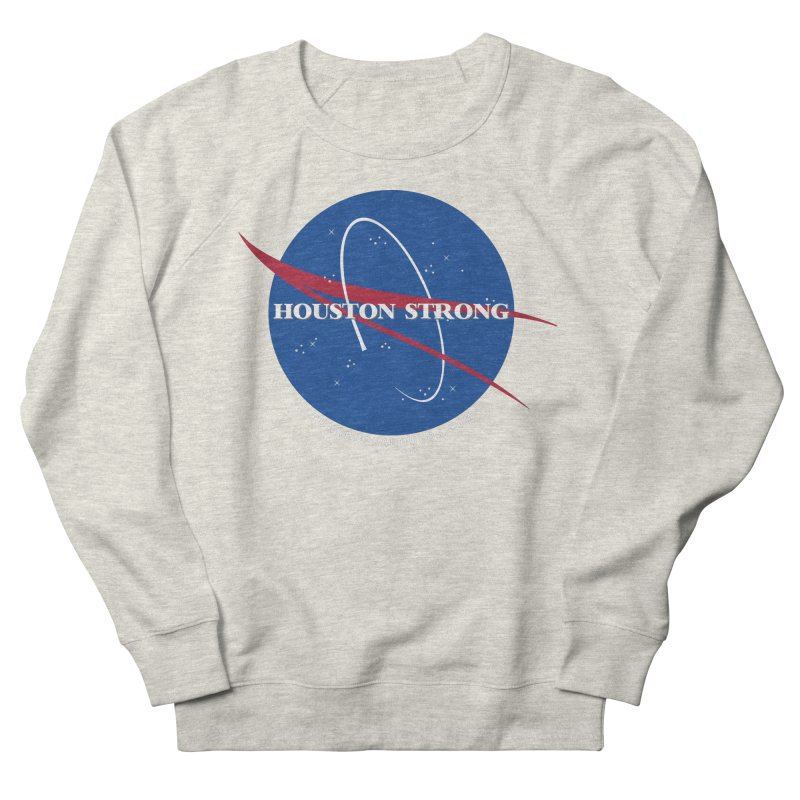 Houston Relief shirt  Men's French Terry Sweatshirt by punkrockandufos's Artist Shop