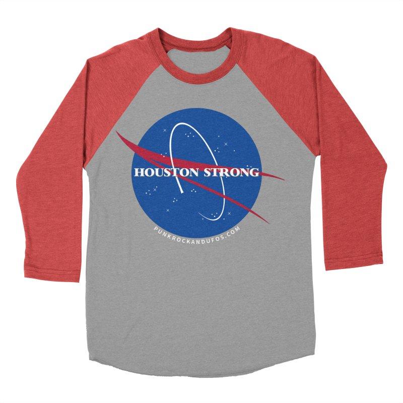 Houston Relief shirt  Women's Baseball Triblend Longsleeve T-Shirt by punkrockandufos's Artist Shop