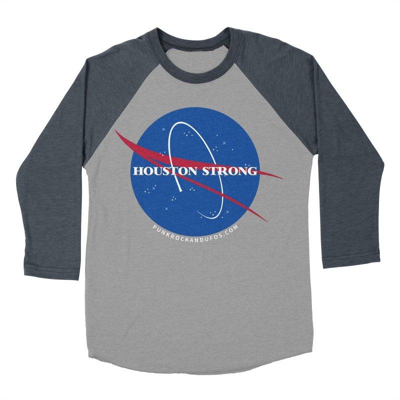Houston Relief shirt  Men's Baseball Triblend Longsleeve T-Shirt by punkrockandufos's Artist Shop