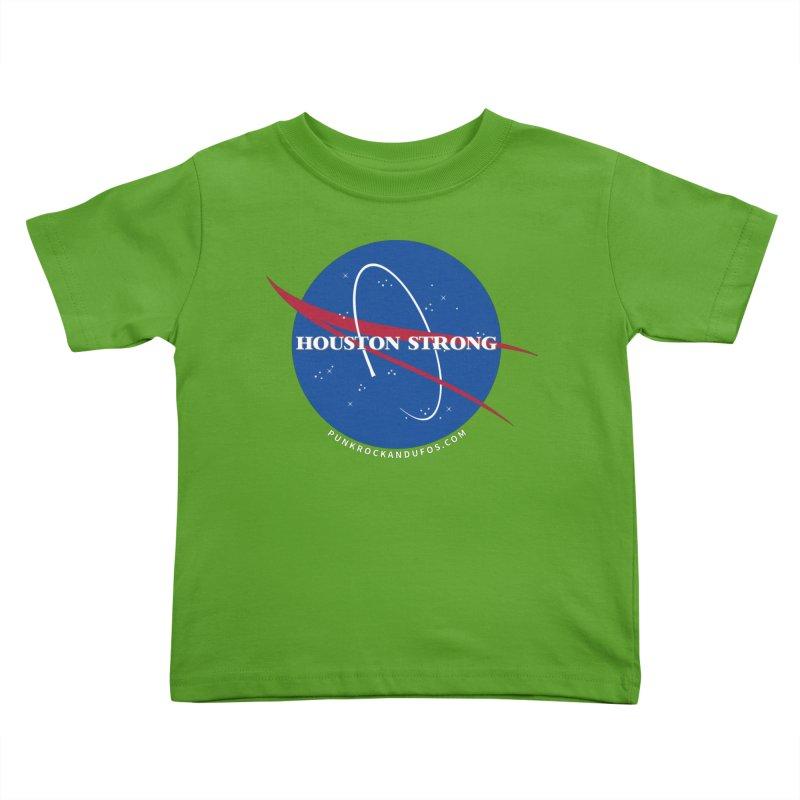Houston Relief shirt  Kids Toddler T-Shirt by punkrockandufos's Artist Shop