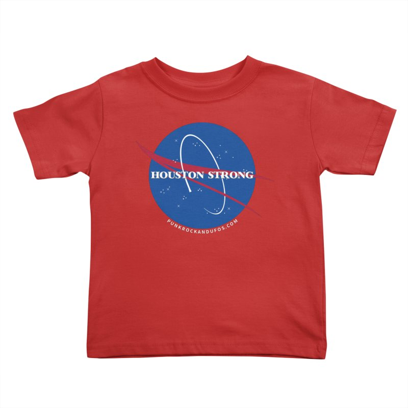 Houston Relief shirt  Kids Toddler T-Shirt by punkrockandufos's Artist Shop
