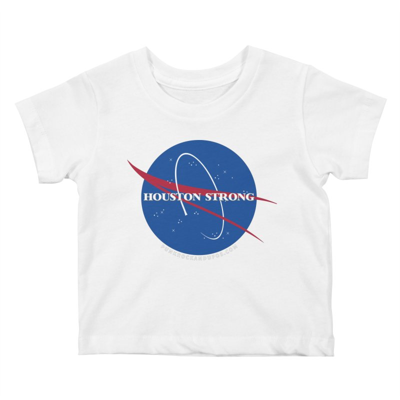 Houston Relief shirt  Kids Baby T-Shirt by punkrockandufos's Artist Shop