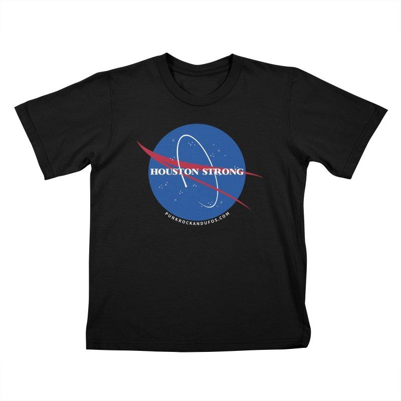 Houston Relief shirt  Kids T-Shirt by punkrockandufos's Artist Shop