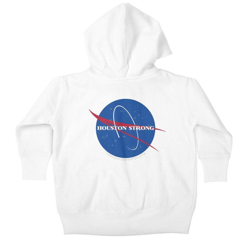 Houston Relief shirt  Kids Baby Zip-Up Hoody by punkrockandufos's Artist Shop