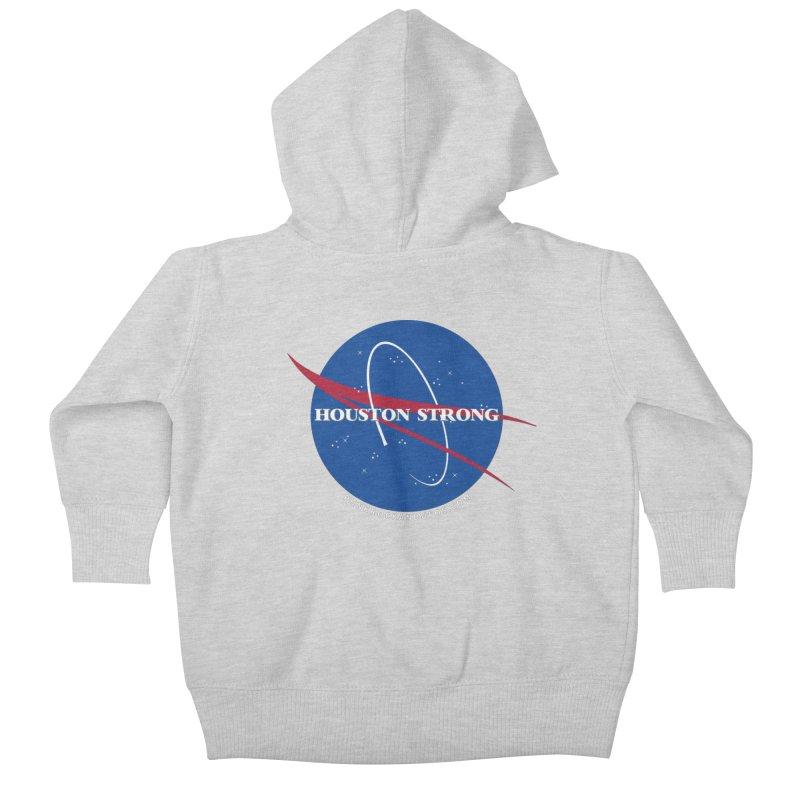 Houston Relief shirt  Kids Baby Zip-Up Hoody by punkrockandufos's Artist Shop