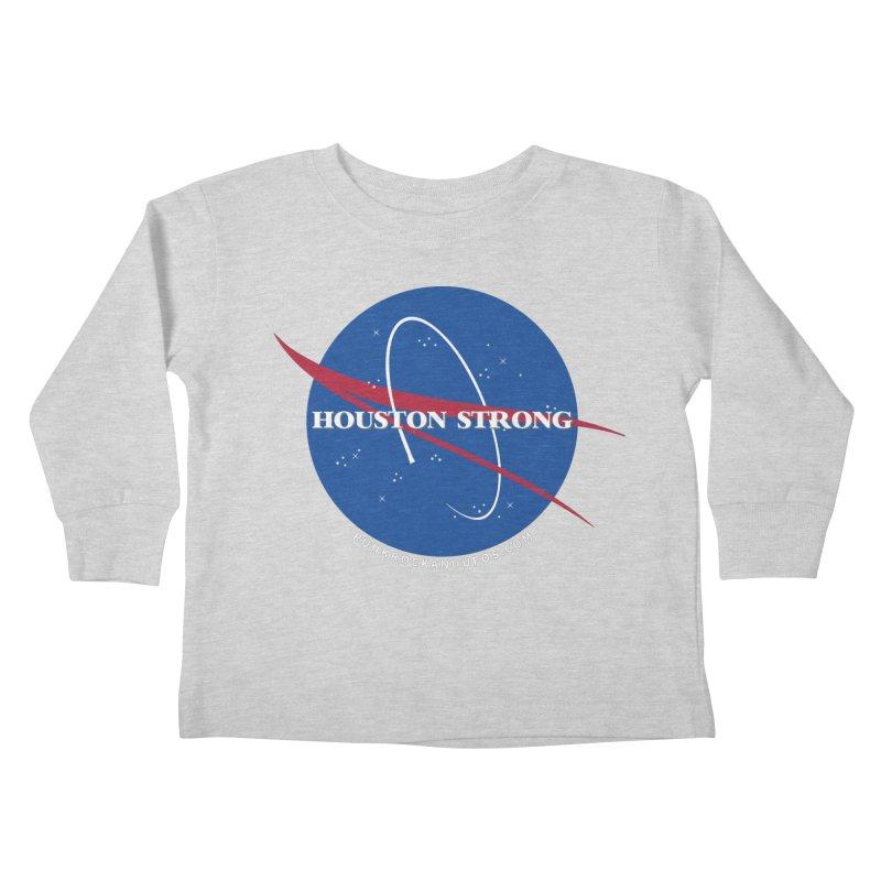 Houston Relief shirt  Kids Toddler Longsleeve T-Shirt by punkrockandufos's Artist Shop
