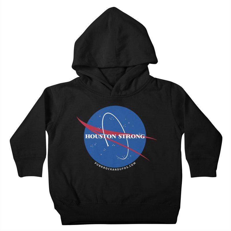 Houston Relief shirt  Kids Toddler Pullover Hoody by punkrockandufos's Artist Shop