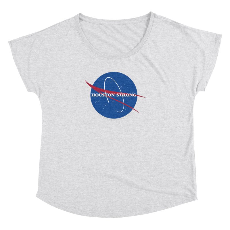 Houston Relief shirt  Women's Dolman Scoop Neck by punkrockandufos's Artist Shop