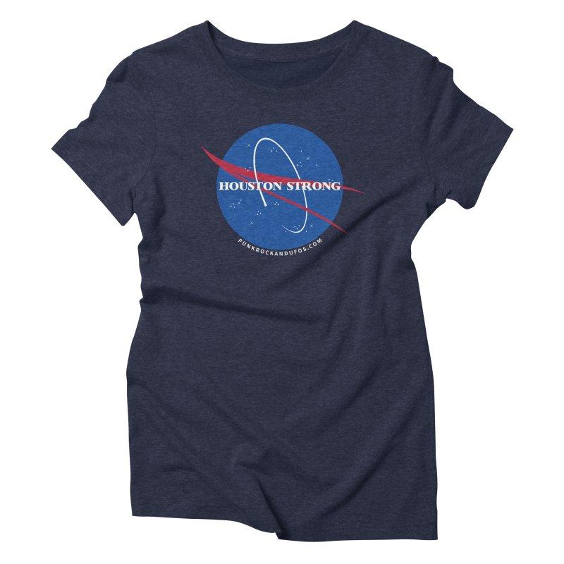 Houston Relief shirt  Women's Triblend T-Shirt by punkrockandufos's Artist Shop