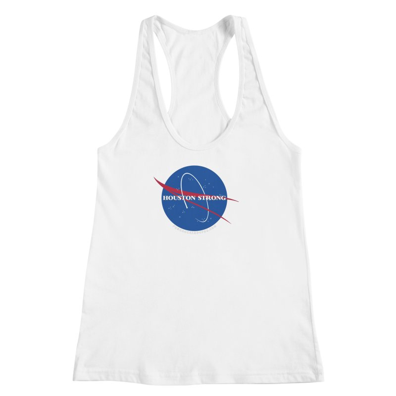 Houston Relief shirt  Women's Racerback Tank by punkrockandufos's Artist Shop
