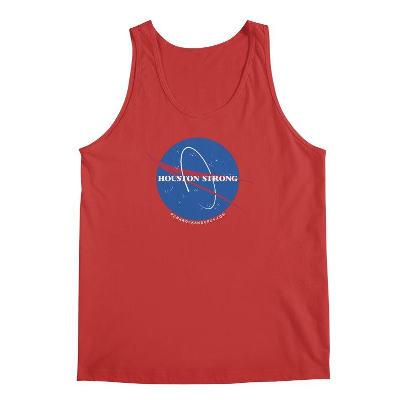 Houston Relief shirt  Men's Regular Tank by punkrockandufos's Artist Shop