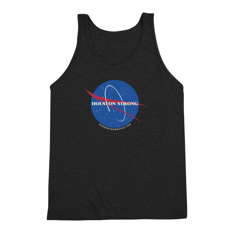 Houston Relief shirt  Men's Triblend Tank by punkrockandufos's Artist Shop