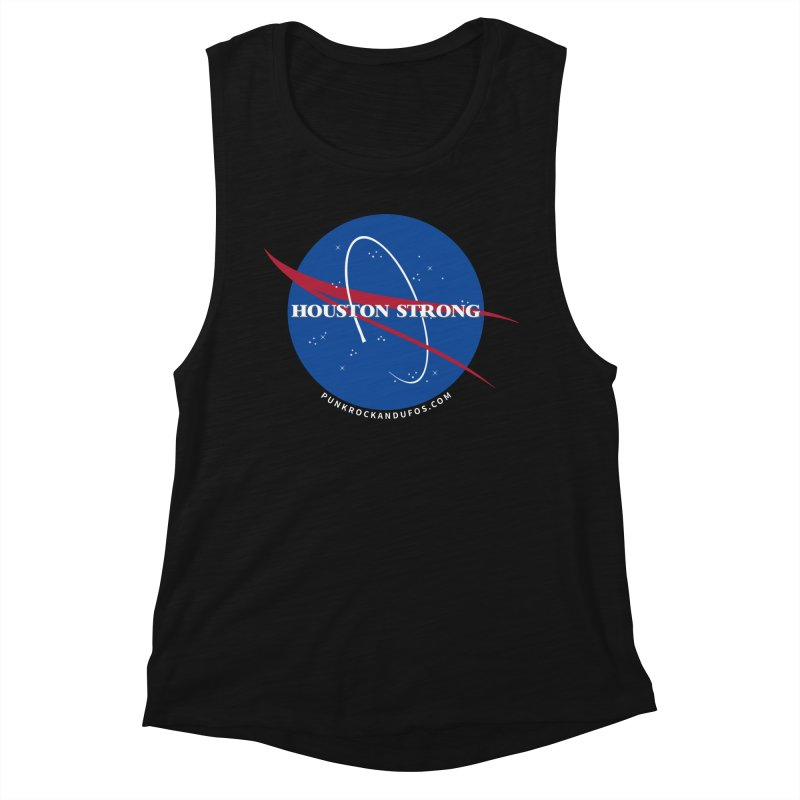 Houston Relief shirt  Women's Muscle Tank by punkrockandufos's Artist Shop