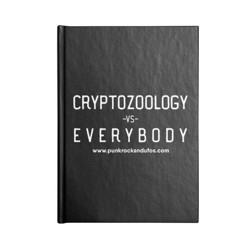 Versus Accessories Lined Journal Notebook by punkrockandufos's Artist Shop