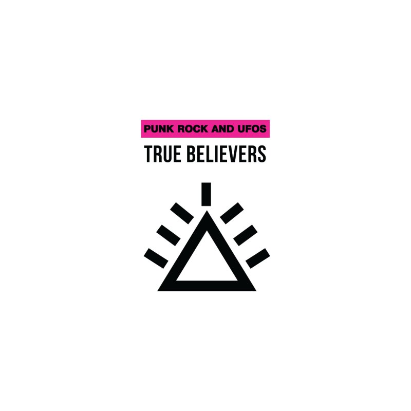 True Believers Women's Zip-Up Hoody by punkrockandufos's Artist Shop