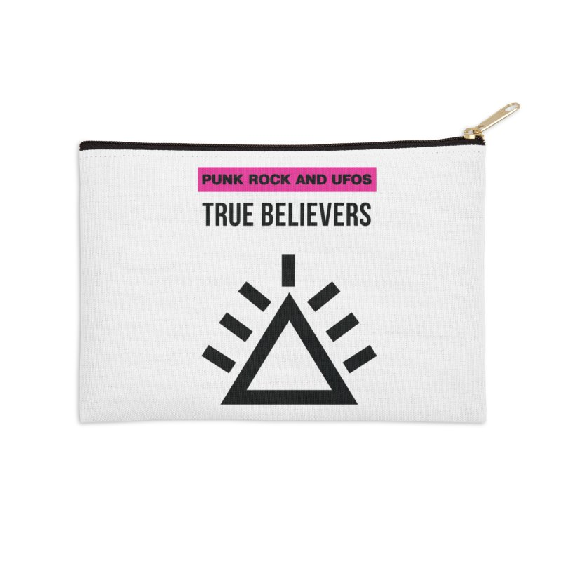 True Believers Accessories Zip Pouch by punkrockandufos's Artist Shop