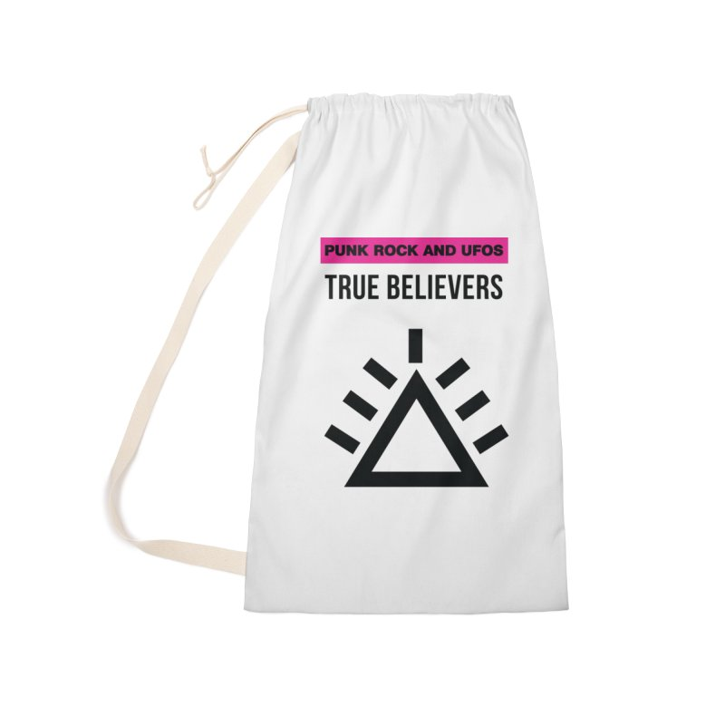 True Believers Accessories Laundry Bag Bag by punkrockandufos's Artist Shop