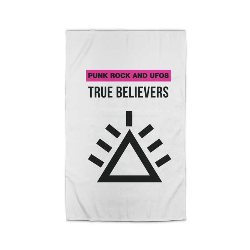 True Believers Home Rug by punkrockandufos's Artist Shop