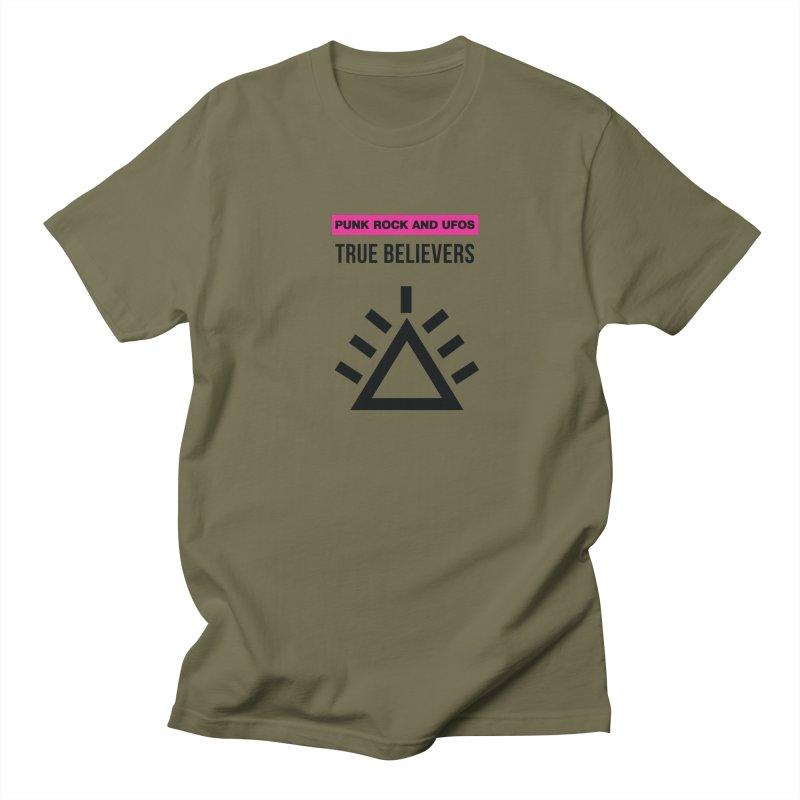 True Believers Women's Regular Unisex T-Shirt by punkrockandufos's Artist Shop