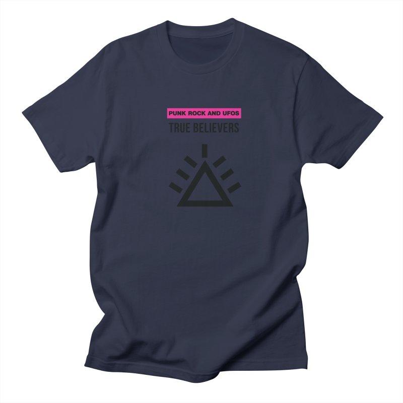 True Believers Men's Regular T-Shirt by punkrockandufos's Artist Shop
