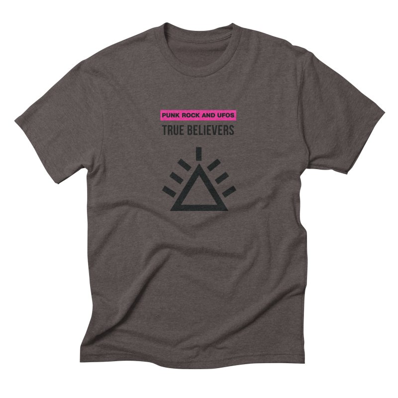 True Believers Men's Triblend T-Shirt by punkrockandufos's Artist Shop