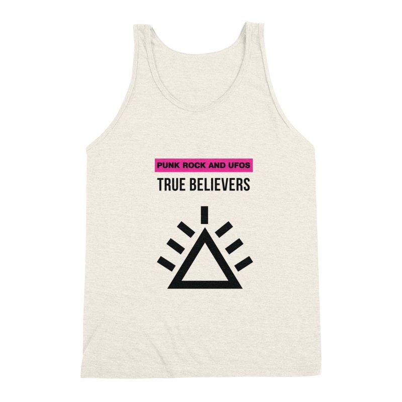 True Believers Men's Triblend Tank by punkrockandufos's Artist Shop