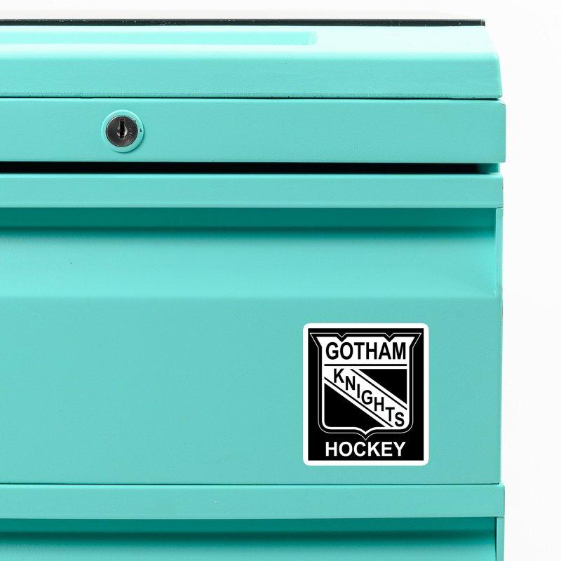 Gotham Knights Hockey Accessories Magnet by punkrockandufos's Artist Shop