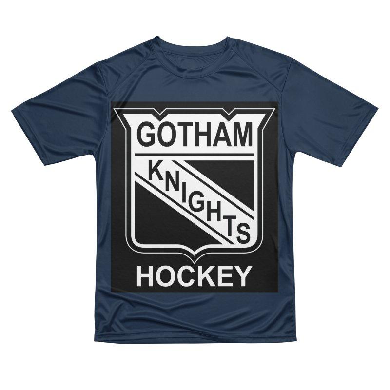 Gotham Knights Hockey Men's Performance T-Shirt by punkrockandufos's Artist Shop
