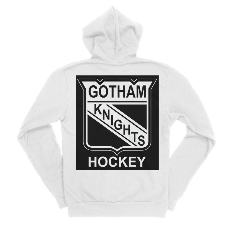 Gotham Knights Hockey Men's Sponge Fleece Zip-Up Hoody by punkrockandufos's Artist Shop