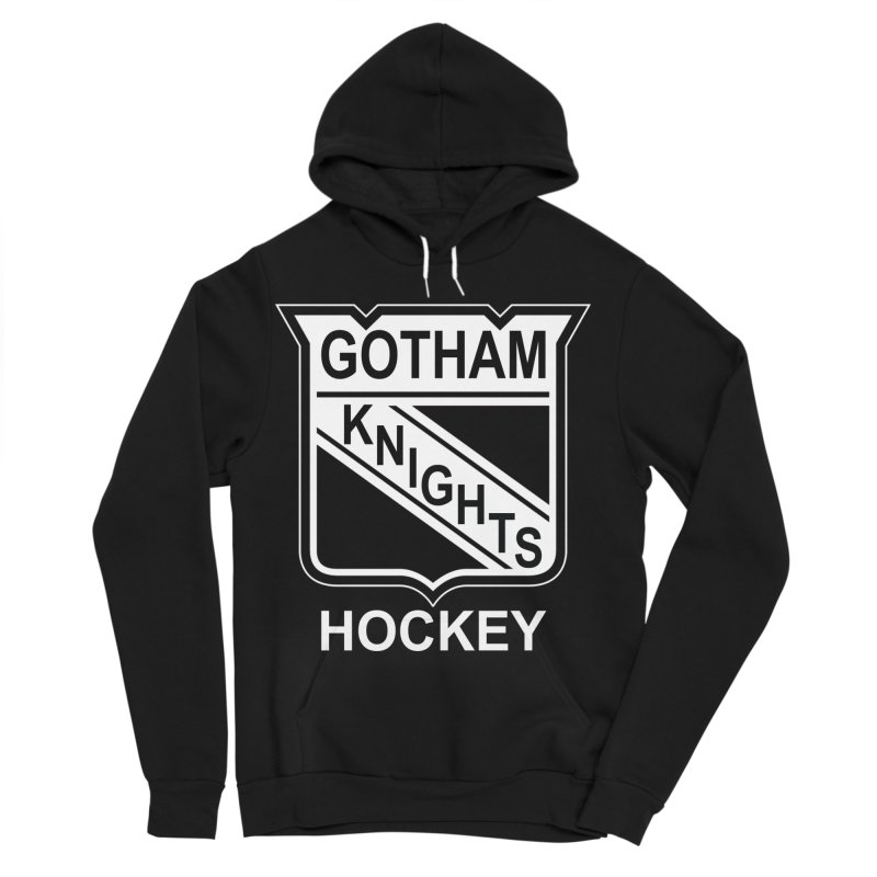 Gotham Knights Hockey Women's Sponge Fleece Pullover Hoody by punkrockandufos's Artist Shop