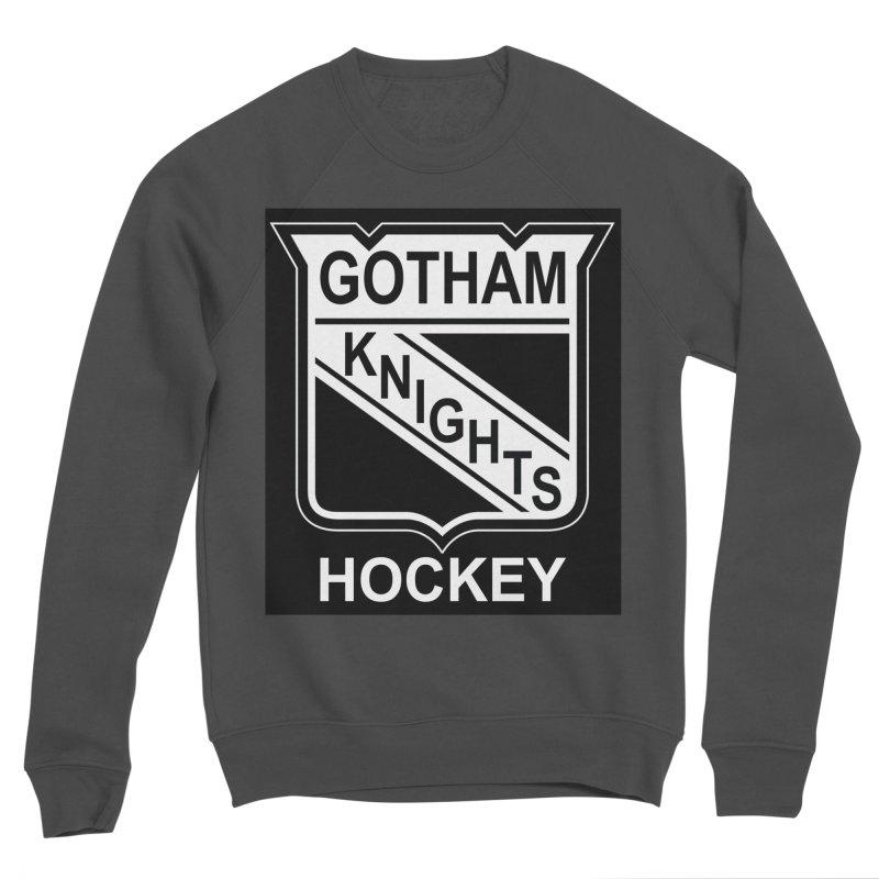 Gotham Knights Hockey Men's Sponge Fleece Sweatshirt by punkrockandufos's Artist Shop