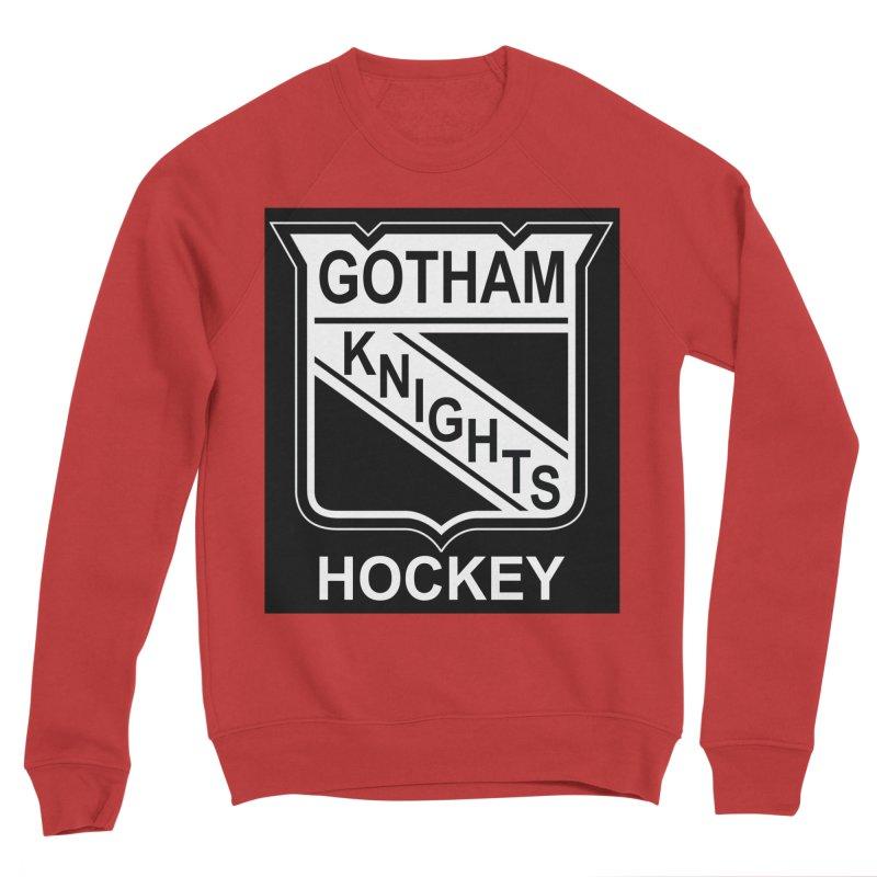 Gotham Knights Hockey Women's Sponge Fleece Sweatshirt by punkrockandufos's Artist Shop