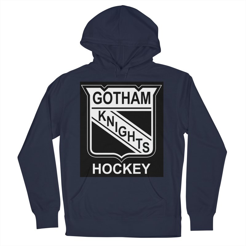 Gotham Knights Hockey Men's Pullover Hoody by punkrockandufos's Artist Shop