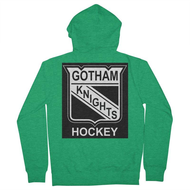 Gotham Knights Hockey Women's Zip-Up Hoody by punkrockandufos's Artist Shop