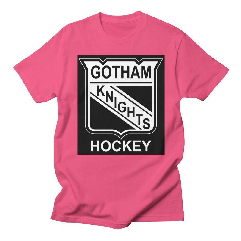 Gotham Knights Hockey Men's T-Shirt by punkrockandufos's Artist Shop