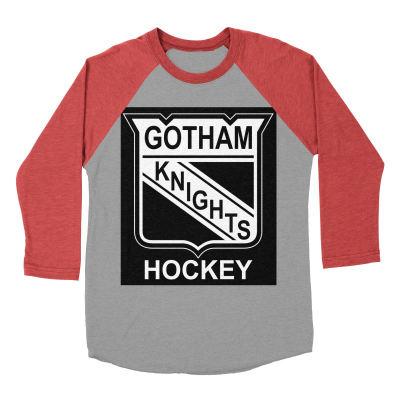 Gotham Knights Hockey Men's Longsleeve T-Shirt by punkrockandufos's Artist Shop