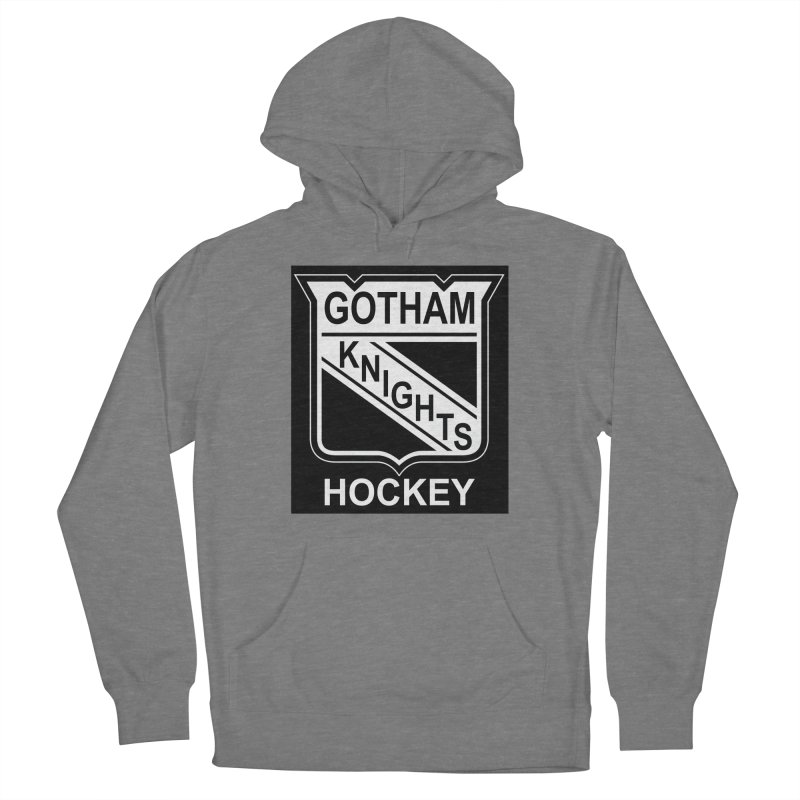 Gotham Knights Hockey Women's Pullover Hoody by punkrockandufos's Artist Shop