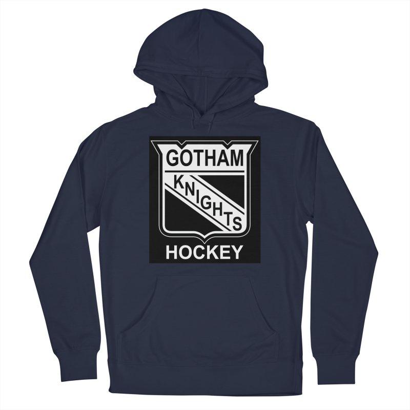 Gotham Knights Hockey Men's Pullover Hoody by punkrockandufos's Artist Shop
