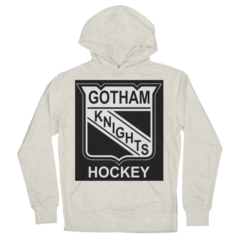 Gotham Knights Hockey Women's French Terry Pullover Hoody by punkrockandufos's Artist Shop