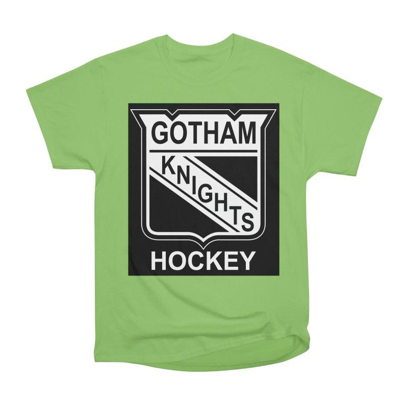 Gotham Knights Hockey Women's Heavyweight Unisex T-Shirt by punkrockandufos's Artist Shop