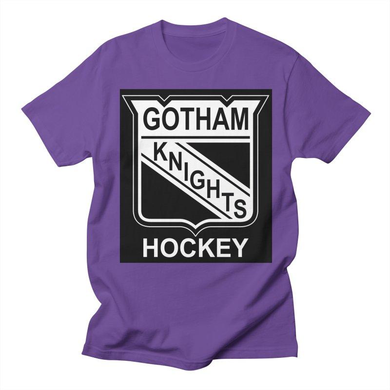 Gotham Knights Hockey Men's Regular T-Shirt by punkrockandufos's Artist Shop
