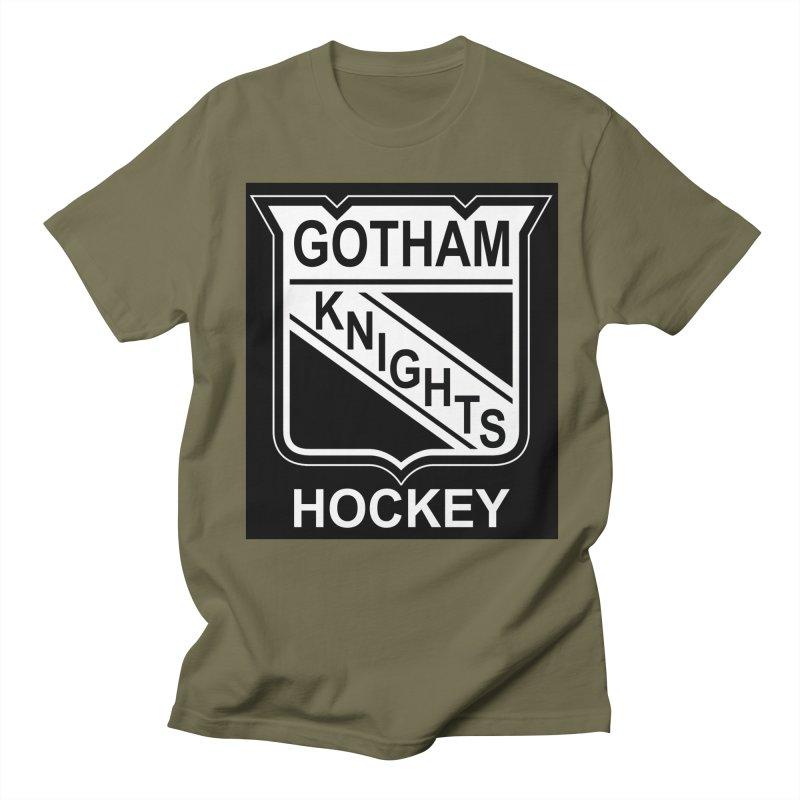 Gotham Knights Hockey Women's Regular Unisex T-Shirt by punkrockandufos's Artist Shop