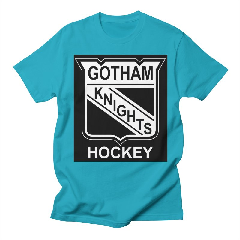 Gotham Knights Hockey Women's Regular Unisex T-Shirt by punkrockandufos's Artist Shop