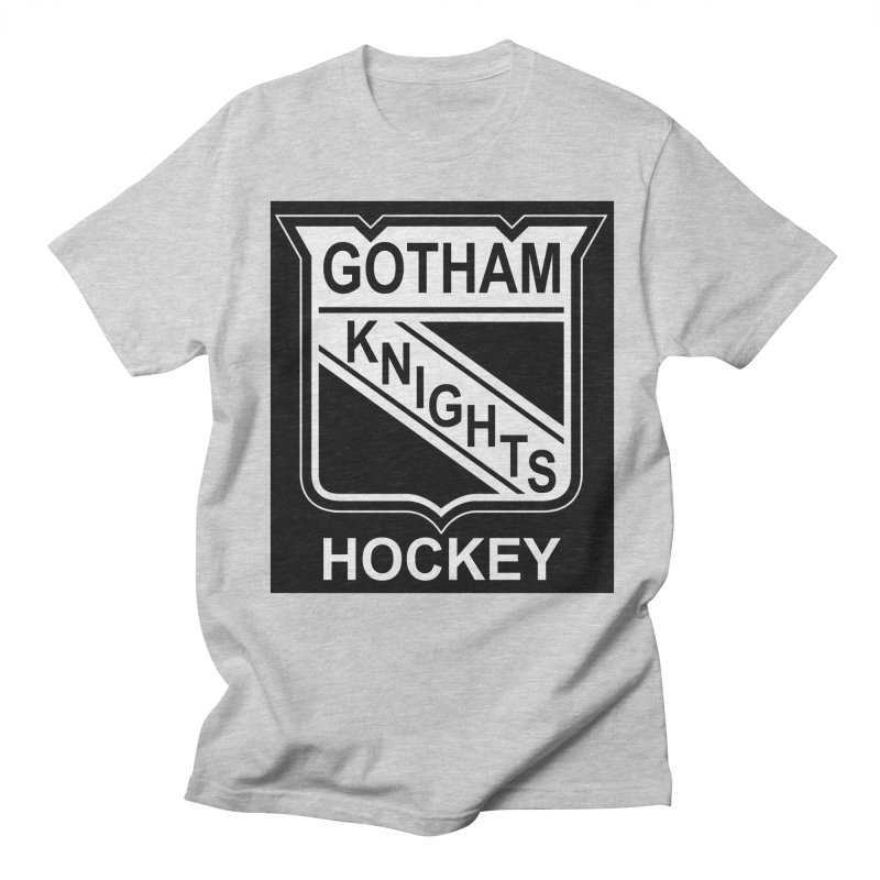 Gotham Knights Hockey Men's Regular T-Shirt by punkrockandufos's Artist Shop