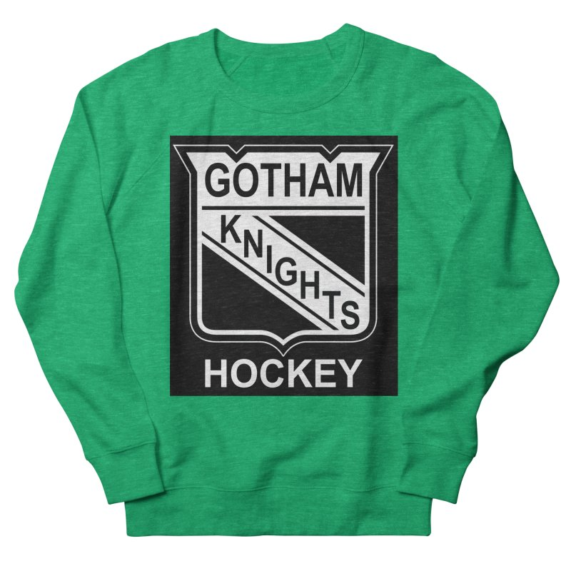 Gotham Knights Hockey Women's Sweatshirt by punkrockandufos's Artist Shop