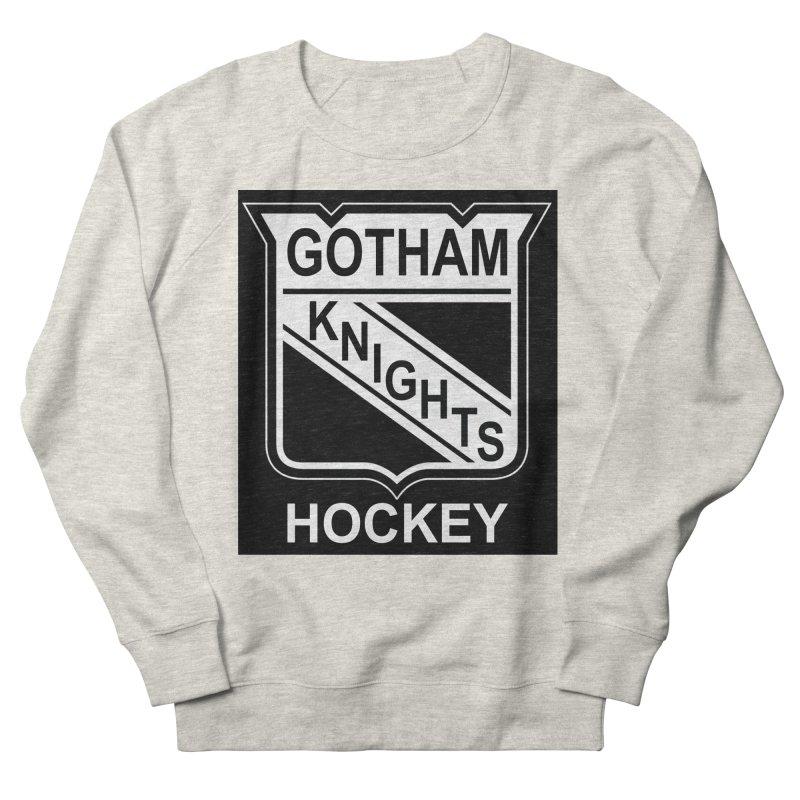 Gotham Knights Hockey Women's French Terry Sweatshirt by punkrockandufos's Artist Shop