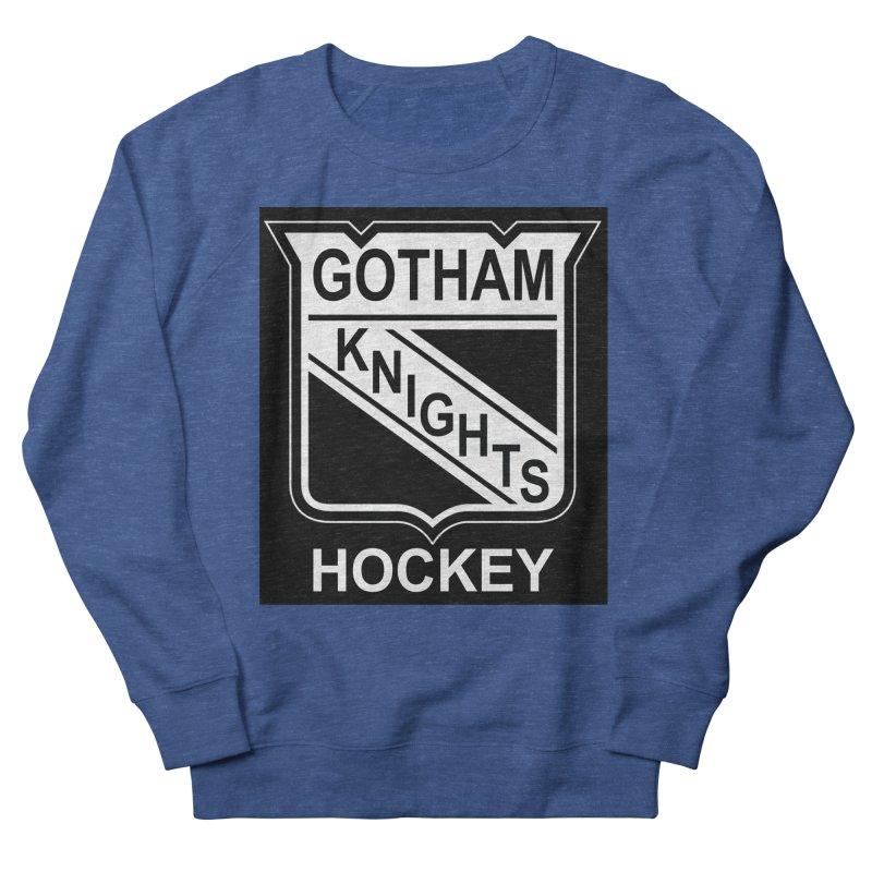 Gotham Knights Hockey Men's Sweatshirt by punkrockandufos's Artist Shop