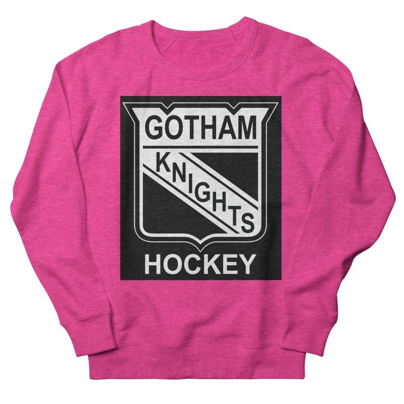 Gotham Knights Hockey Men's French Terry Sweatshirt by punkrockandufos's Artist Shop