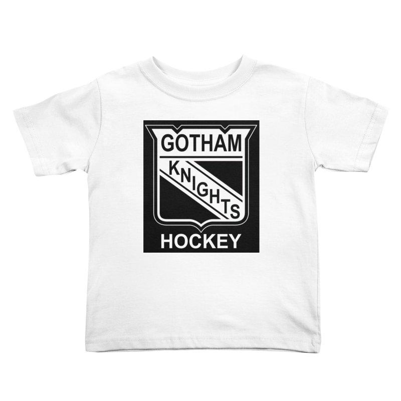 Gotham Knights Hockey Kids Toddler T-Shirt by punkrockandufos's Artist Shop