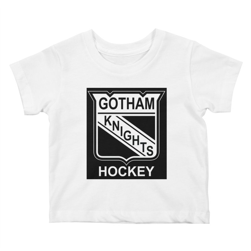 Gotham Knights Hockey Kids Baby T-Shirt by punkrockandufos's Artist Shop